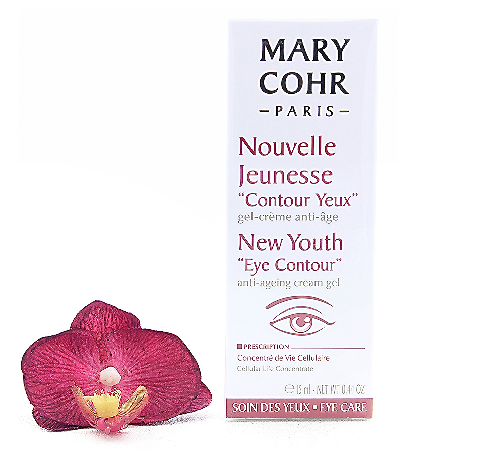 "857232-1 Mary Cohr Nouvelle Jeunesse ""Contour Yeux"" - New Youth ""Eye Contour"" 15ml"