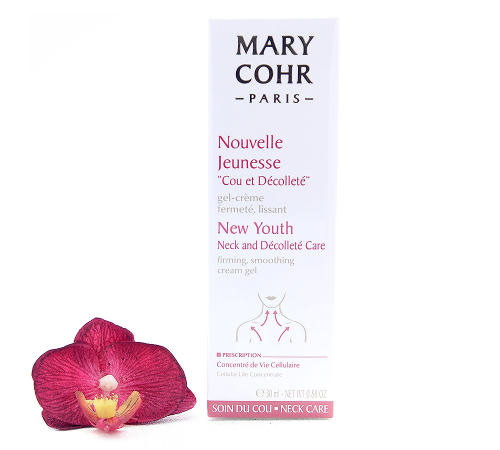 "857270-1 Mary Cohr Nouvelle Jeunesse ""Cou et Decollete"" - New Youth Neck and Decollete Care 30ml"