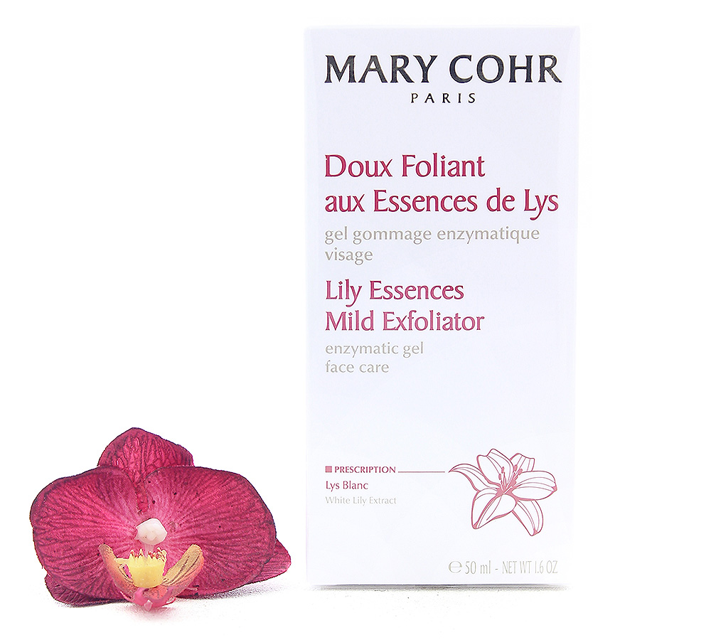 860163-1 Mary Cohr Doux Foliant aux Essences de Lys - Lily Essences Mild Exfoliator 50ml