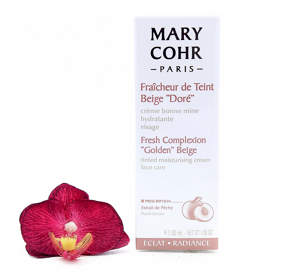 """860510-1 Mary Cohr Fraîcheur de Teint Beige """"Doré"""" 30ml"""