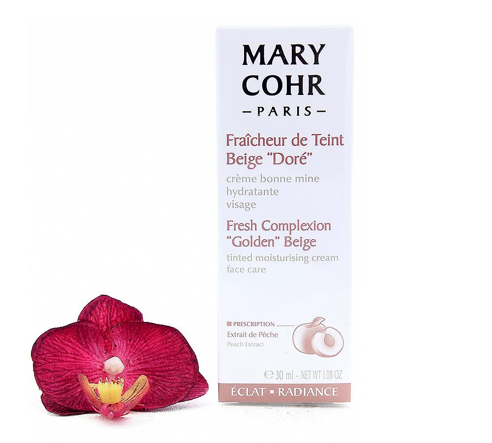 "860510-1 Mary Cohr Fraicheur de Teint - Fresh Complexion ""Golden"" Beige 30ml"