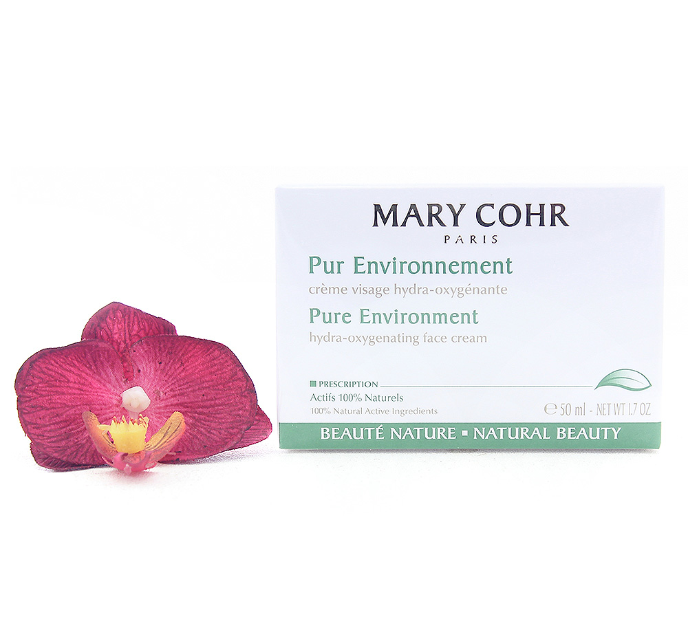 860521-1 Mary Cohr Pure Environment - Hydra-Oxygenating Face Cream 50ml