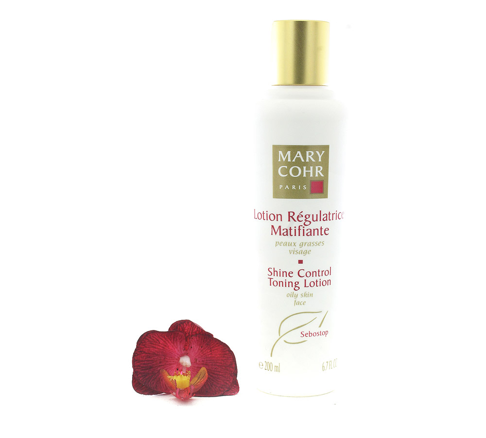 860590 Mary Cohr Lotion Régulatrice Matifiante - Shine Control Toning Lotion 200ml