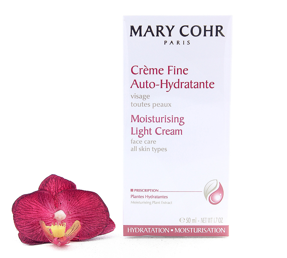 892210-1 Mary Cohr Creme Fine Auto-Hydratante - Light Moisturising Cream 50ml