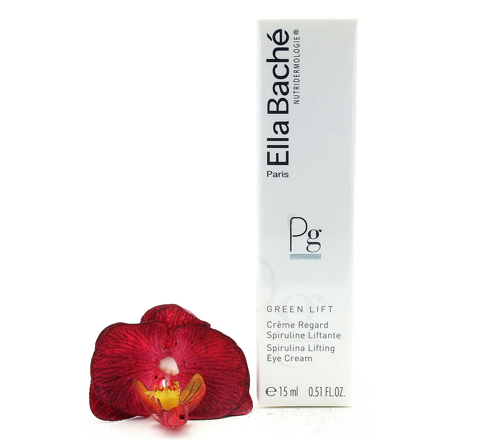 VE15021 Ella Bache Green Lift Creme Regard Spiruline Liftante - Spirulina Lifting Eye Cream 15ml