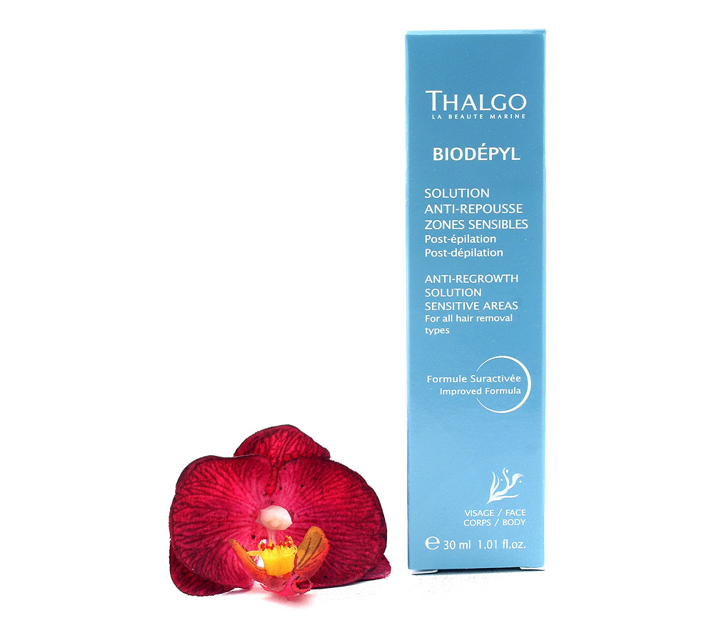 VT13028 Thalgo Biodepyl Anti-Regrowth Solution Sensitive Areas - Solution Anti-Repousse Zones Sensibles 30ml