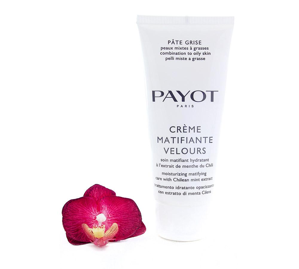 65115995 Payot Pâte Grise Crème Matifiante Velours Soin Matifiant Hydratant - Moisturizing Matifying Care 100ml