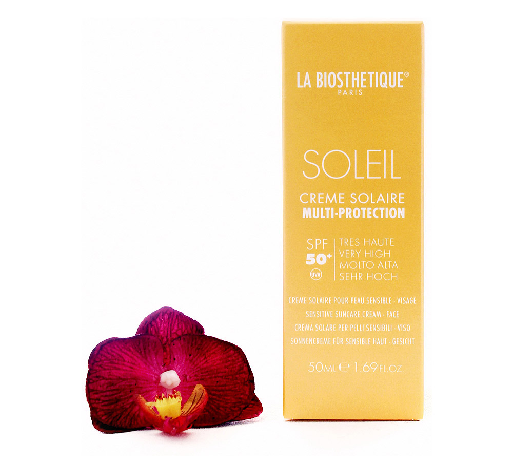 002144 La Biosthetique Soleil Creme Solaire Multi-Protection SPF50+ Sensitive Suncare Cream - Face 50ml