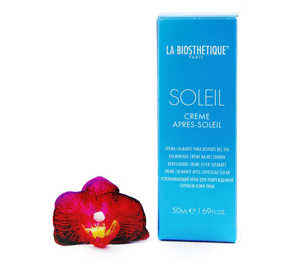 002671 La Biosthetique Soleil Crème Après-Soleil - Crème de Soin Visage Après-Soleil 50ml