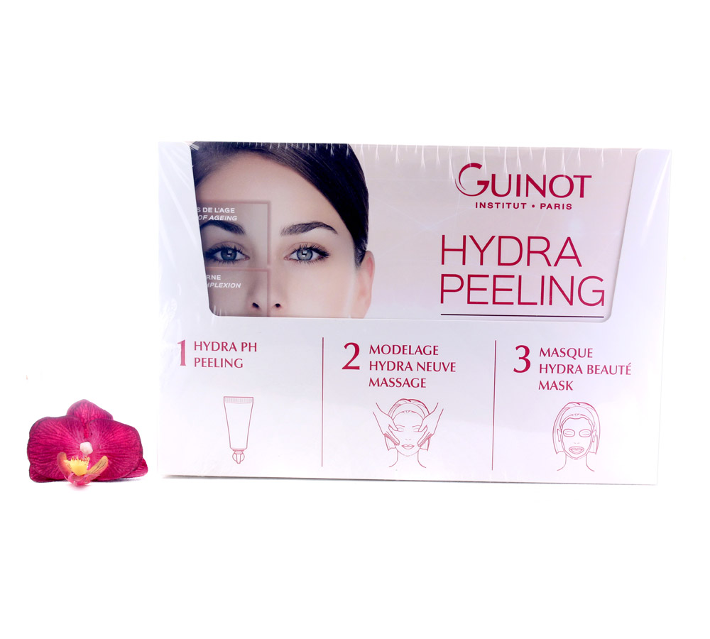 554250 Guinot Soin Hydra Peeling with Hydra PH Set