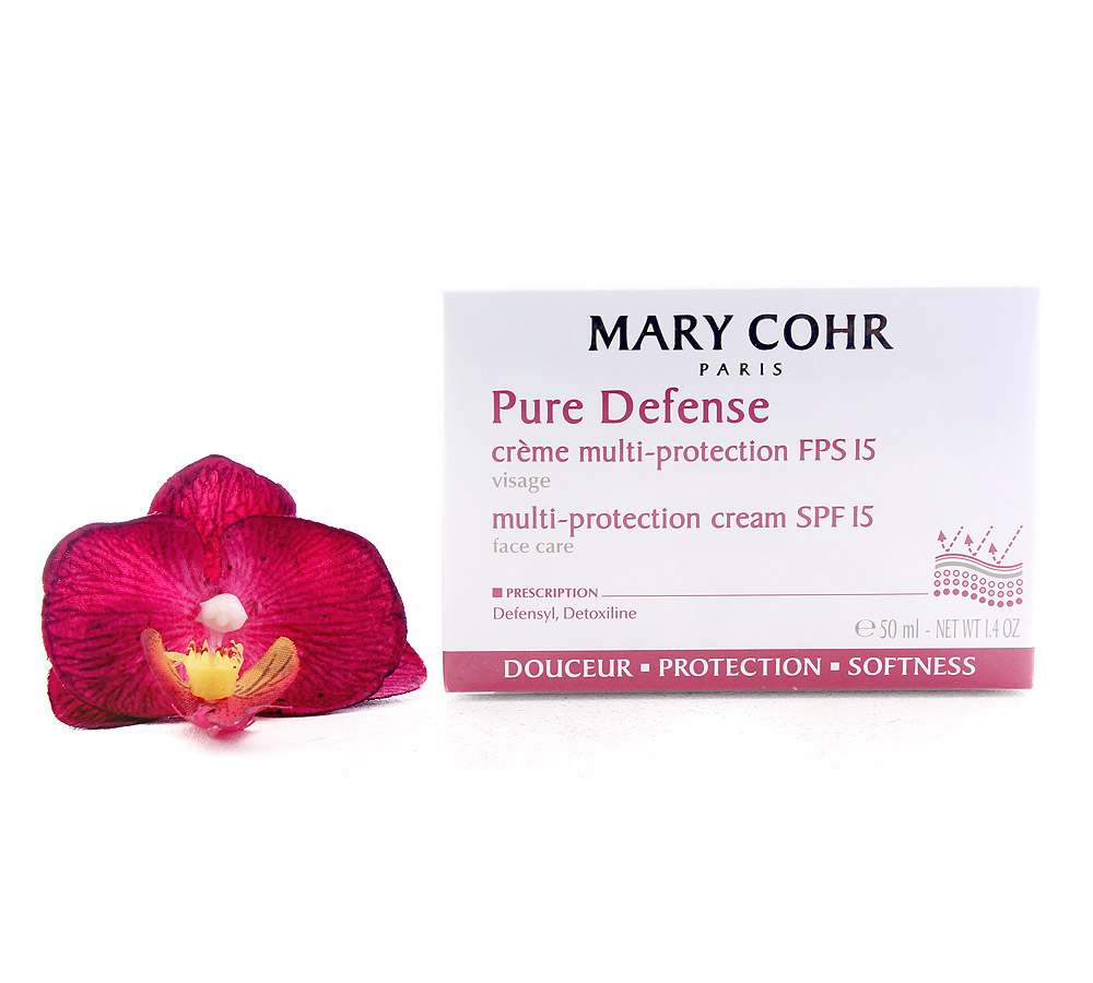 893540 Mary Cohr Pure Defense - Multi-Protection Cream SPF15 50ml