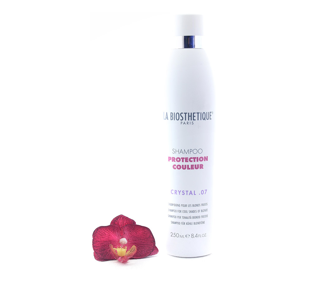 120649 La Biosthetique Shampoo Protection Couleur Crystal .07 - Shampoo for Cool Shapes of Blonde 250ml