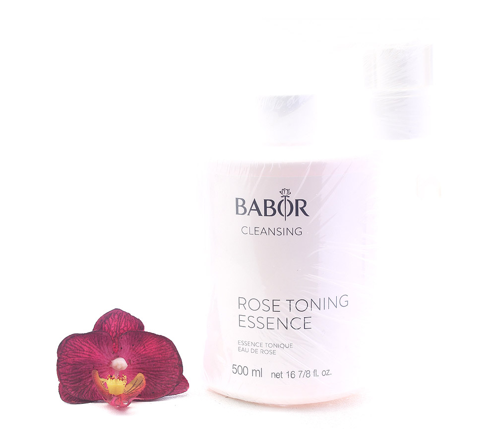 411990 Babor Cleansing CP Rose Toning Essence 500ml