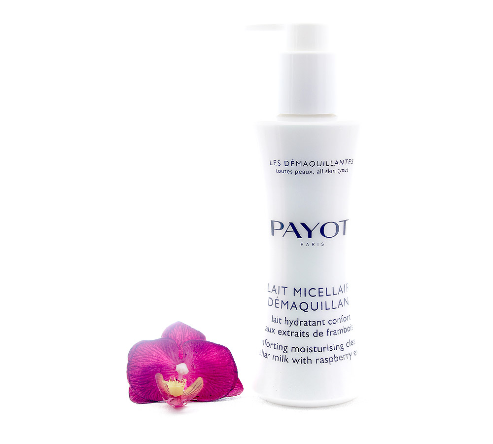 65108264 Payot Lait Micellaire Demaquillant - Comforting Moisturising Cleansing Micellar Milk 200ml