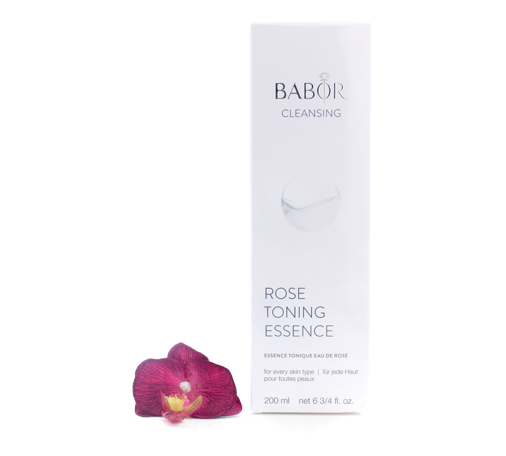 411910 Babor Cleansing CP Essence Tonique Eau de Rose 200ml