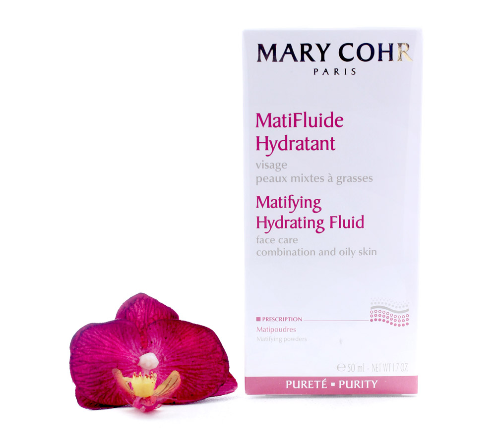 893270 Mary Cohr MatiFluide Hydratant - Matifying Hydrating Fluid 50ml