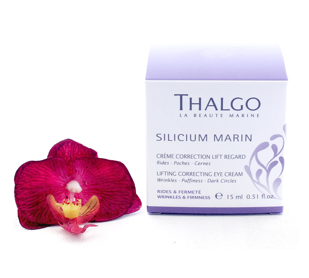 VT16022 Thalgo Silicium Marin Lifting Correcting Eye Cream - Creme Correction Lift Regard 15ml