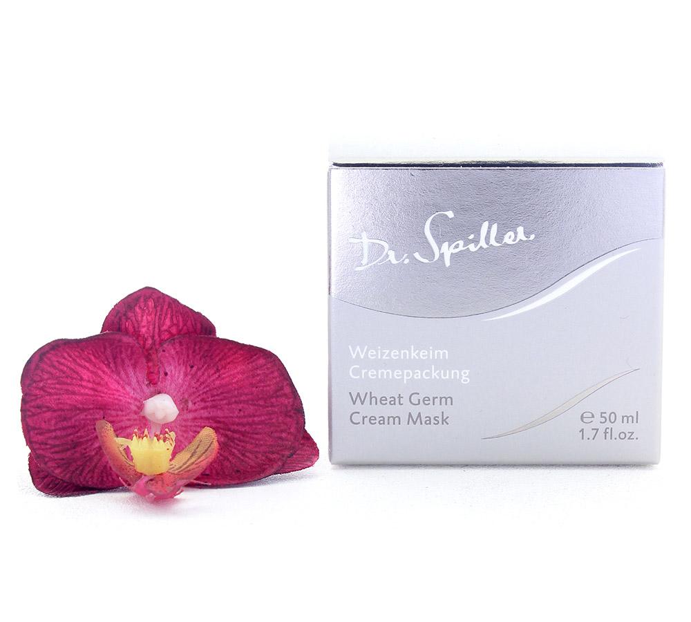 116407a Dr. Spiller Biomimetic Skin Care Masque Crème aux Germes de Blé 50ml