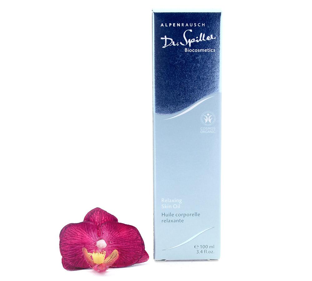 119010 Dr. Spiller Alpenrausch Organic Relaxing Skin Oil 100ml