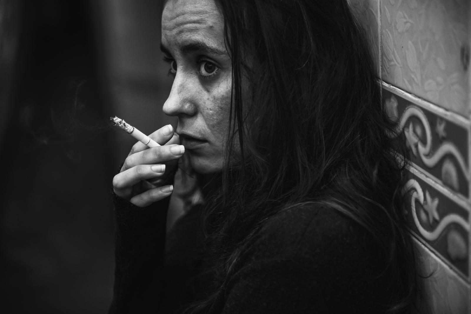Курением стресс не лечится