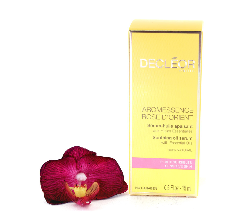 DR225000 Decleor Aromessence Rose d'Orient Sérum-Huile Apaisant - Soothing Oil Serum 15ml