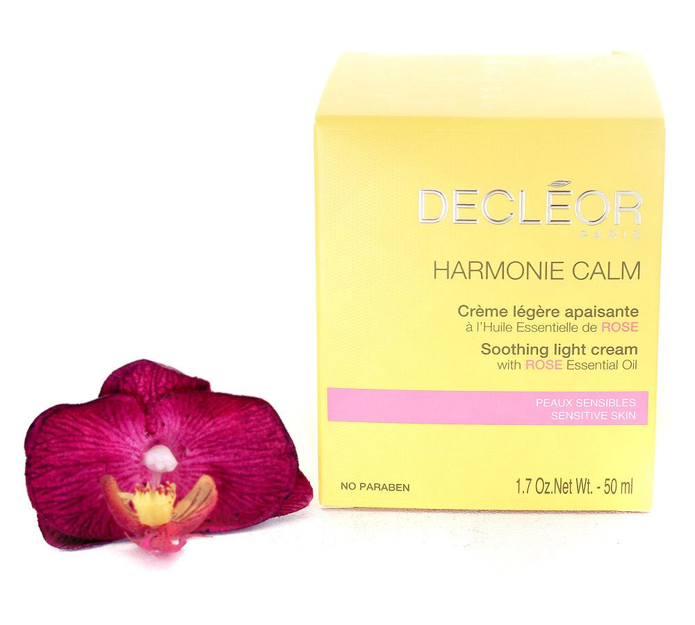 DR345000 Decleor Harmonie Calm Crème Légère Apaisante - Soothing Light Cream 50ml