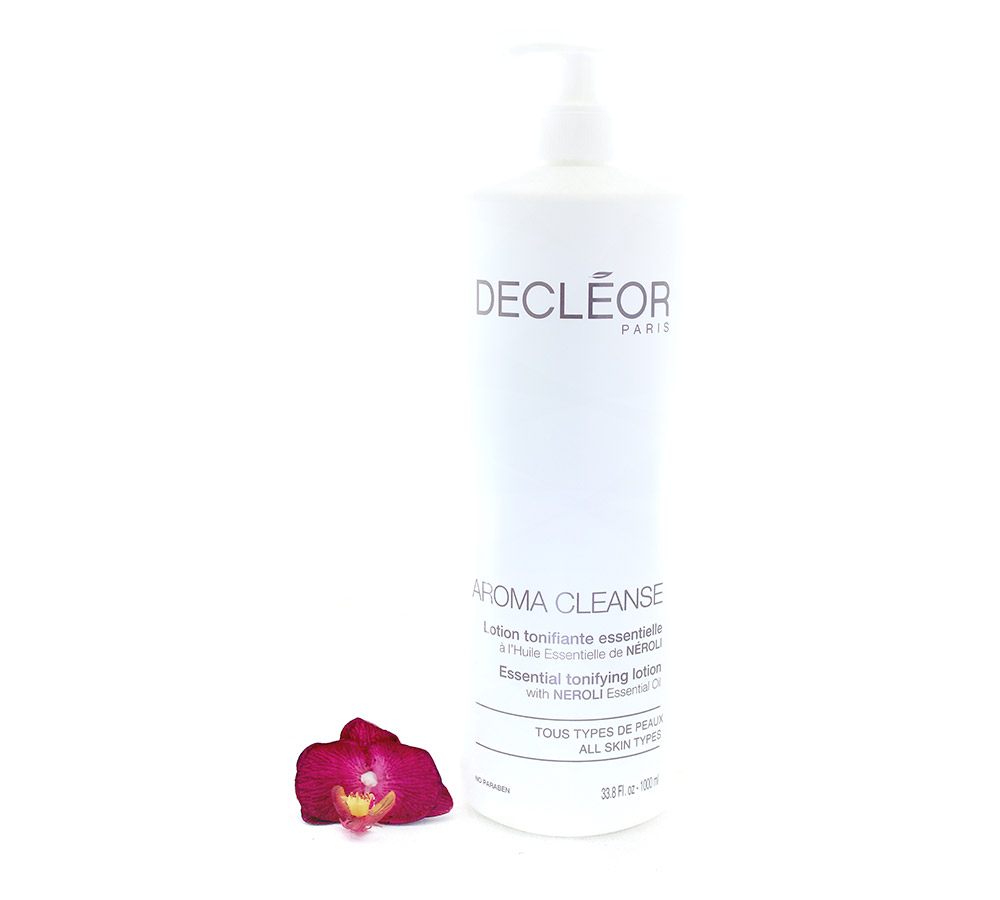 DR461051-1 Decleor Aroma Cleanse Essential Tonifying Lotion - Lotion Tonifiante Essentielle 1000ml