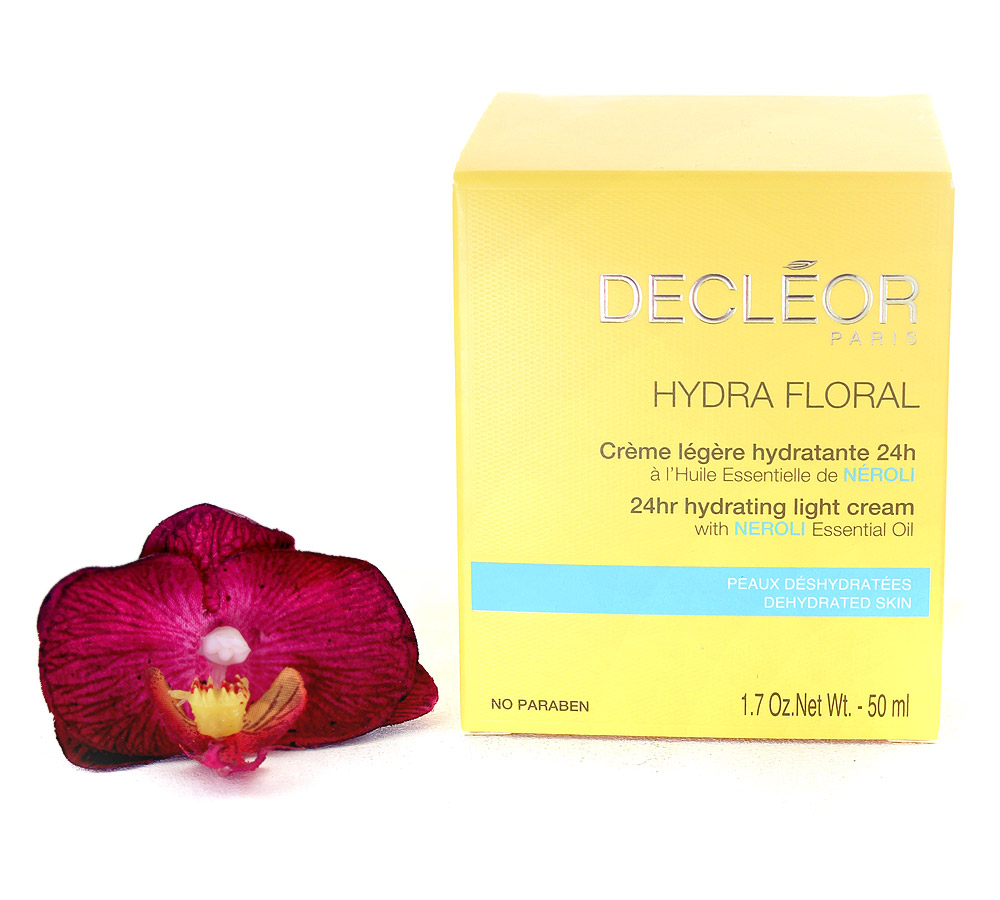 DR535000 Decleor Hydra Floral 24hr Hydrating Light Cream - Creme Legere Hydratante 24h 50ml