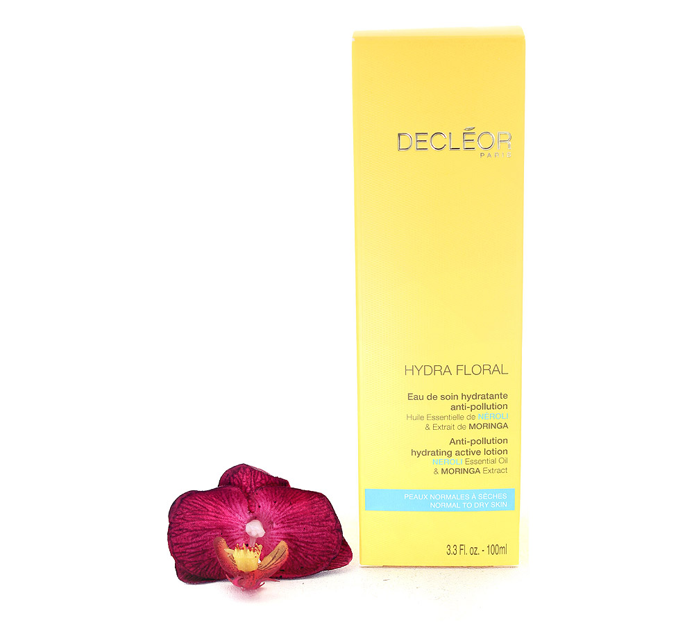 DR560000 Decleor Hydra Floral Anti-Pollution Hydrating Active Lotion - Eau de Soin Hydratante Anti-Pollution 100ml