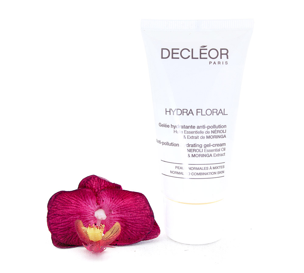 DR563050 Decleor Hydra Floral Anti-Pollution Hydrating Gel-Cream - Gelee Hydratante Anti-Pollution 50ml