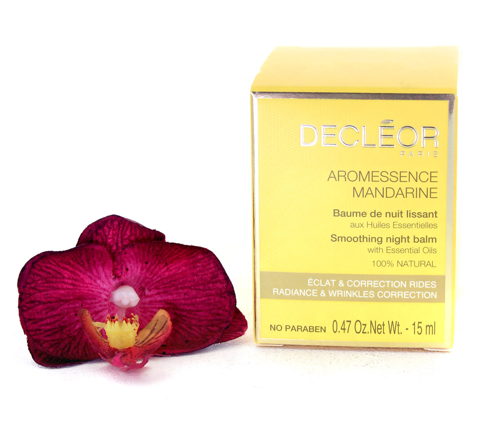 DR647000 Decleor Aromessence Mandarine Baume de Nuit Lissant - Smoothing Night Balm 15ml