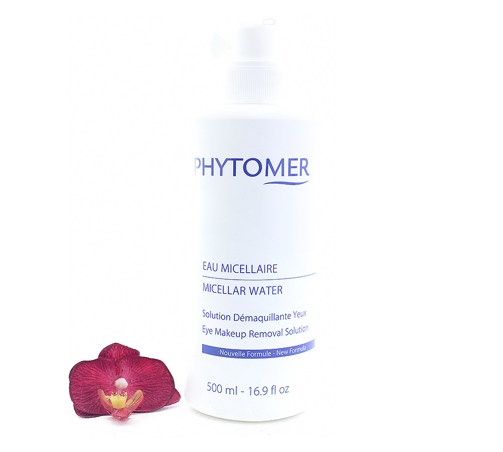IMG_8308 Phytomer Eau Micellaire Solution Démaquillante Yeux - Eye Makeup Removal Solution 500ml