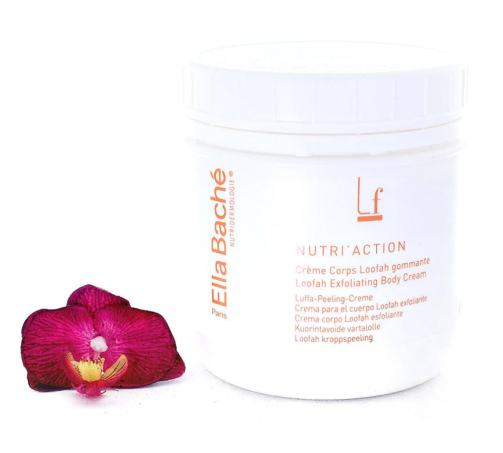 KE15027 Ella Bache Nutri'Action Creme Corps Loofah Gommante - Loofah Exfoliating Body Cream 500ml