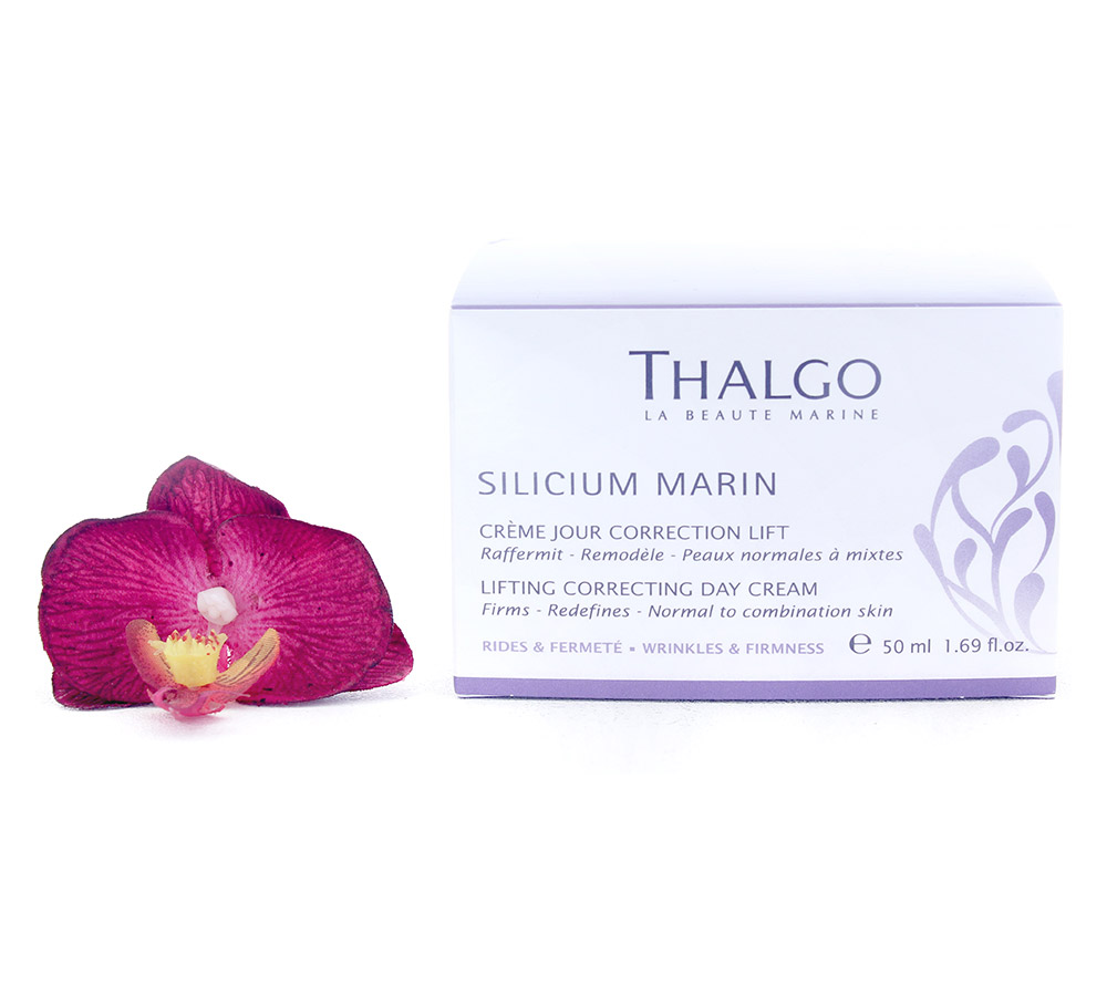 VT16023 Thalgo Silicium Marin Lifting Correcting Day Cream - Creme Jour Correction Lift 50ml