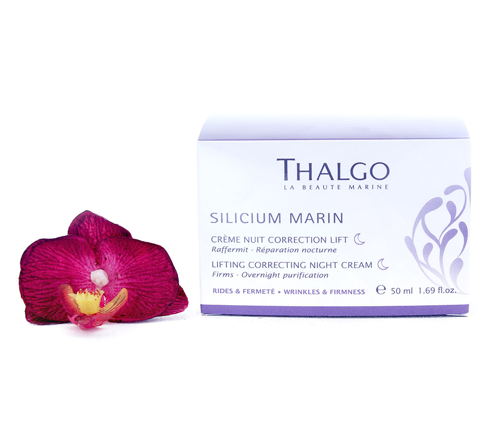 VT16024 Thalgo Silicium Marin Lifting Correcting Night Cream - Creme Nuit Correction Lift 50ml