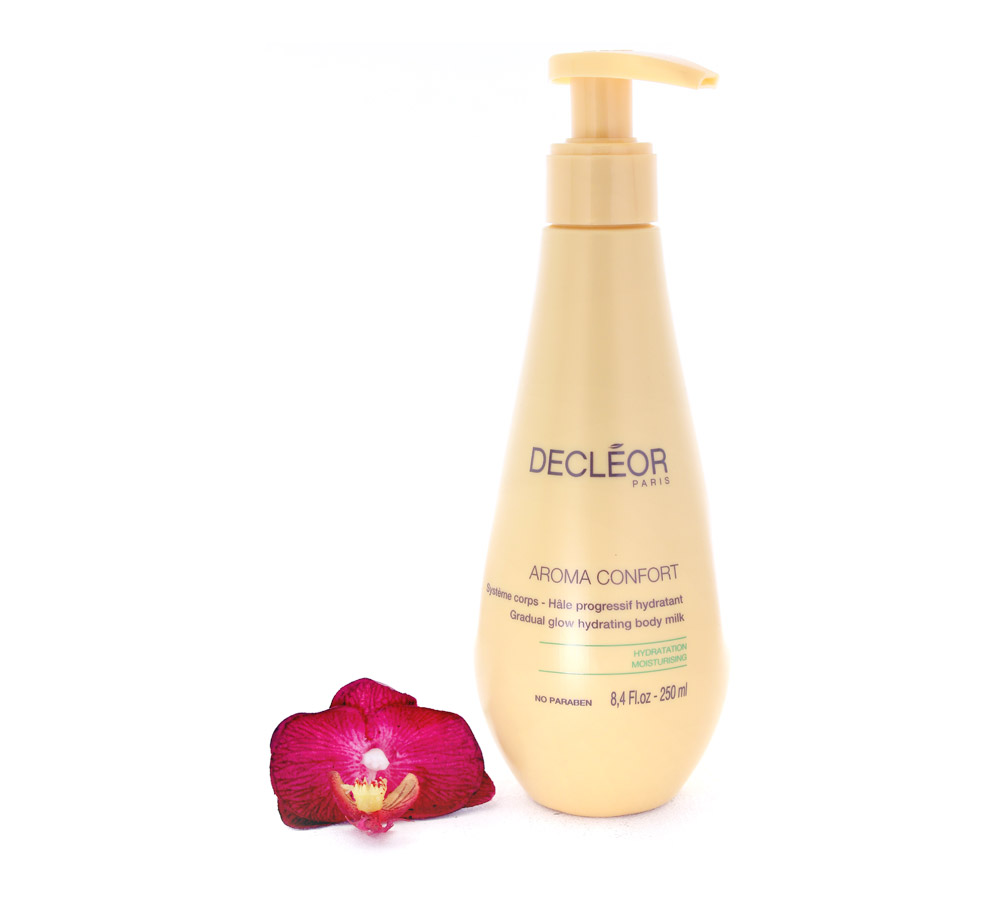 DR165001 Decleor Aroma Confort Gradual Glow Hydrating Body Milk - Systeme Corps Hale Progressif Hydratant 250ml