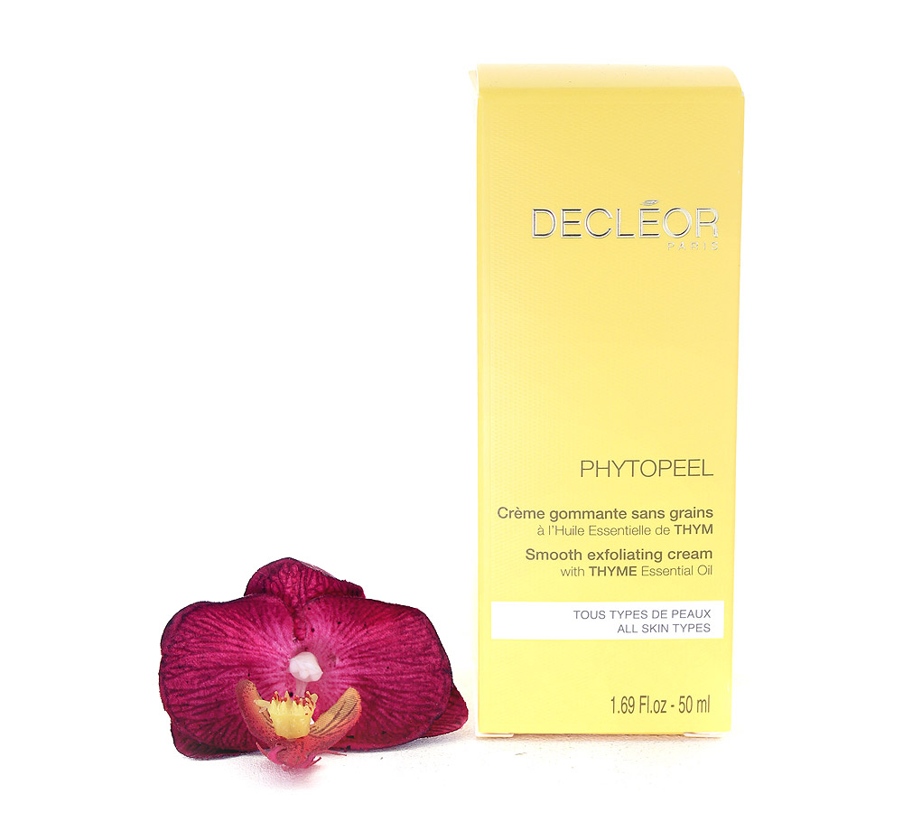 DR211000 Decleor Phytopeel Smooth Exfoliating Cream - Creme Gommante sans Grains 50ml