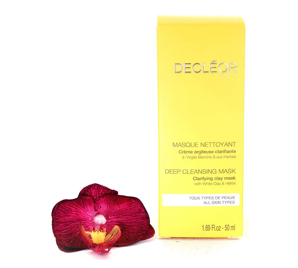 DR214000 Decleor Deep Cleansing Mask Clarifying Clay Mask - Masque Nettoyant 50ml