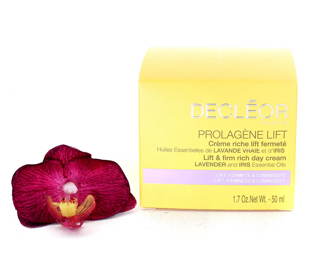 DR380000 Decleor Prolagene Lift Lift & Firm Rich Day Cream - Creme Riche Lift Fermete 50ml