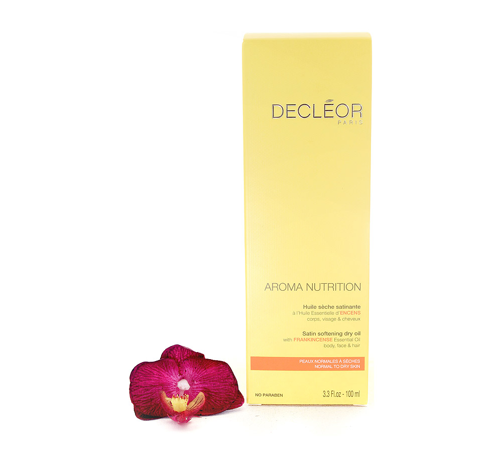 DR446000 Decleor Aroma Nutrition Huile Sèche Satinante - Satin Softening Dry Oil 100ml