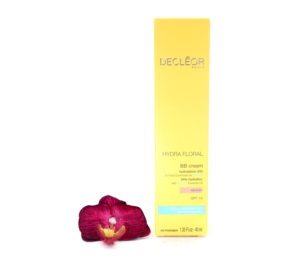 DR536003 Decleor Hydra Floral BB Cream 24hr Hydration - Hydratation 24h SPF15 - Medium 40ml