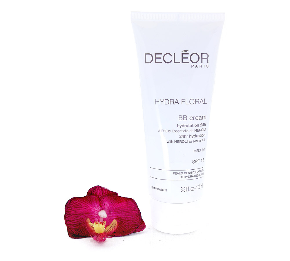 DR536051 Decleor Hydra Floral BB Cream 24hr Hydration - Hydratation 24h SPF15 - Medium 100ml