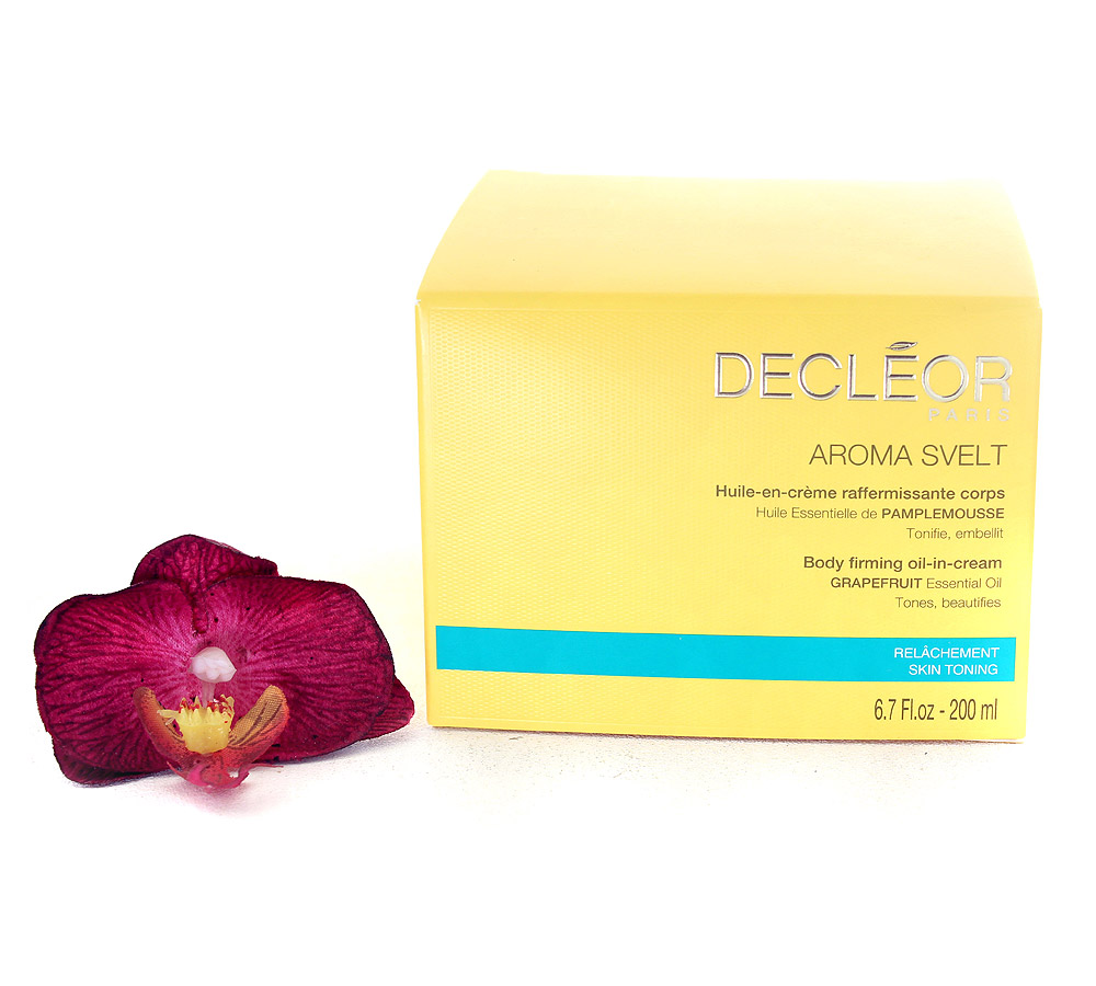 DR586000 Decleor Aroma Svelt Body Firming Oil-in-Cream - Huile-en-Creme Raffermissante Corps 200ml