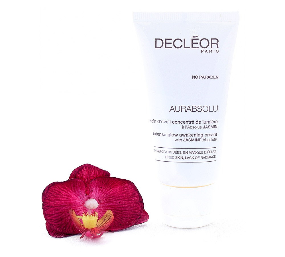 DR631050 Decleor Aurabsolu Intense Glow Awakening Cream - Soin d'Eveil Concentre de Lumiere 50ml