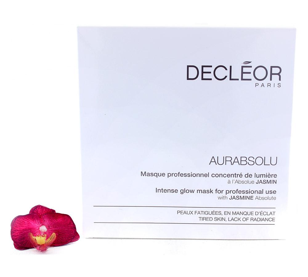 DR633050 Decleor Aurabsolu Intense Glow Mask - Masque Professionnel Concentre de Lumiere 5x29.9g