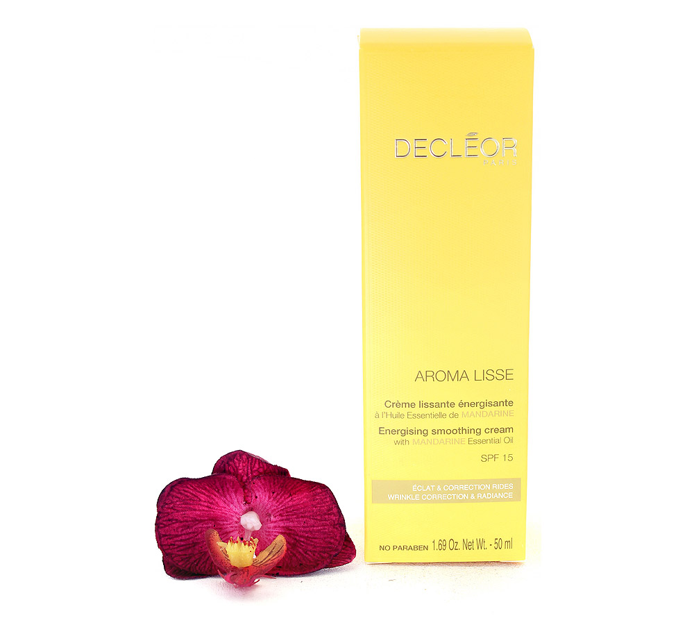 DR645001 Decleor Aroma Lisse Energising Smoothing Cream - Creme Lissante Energisante SPF15 50ml