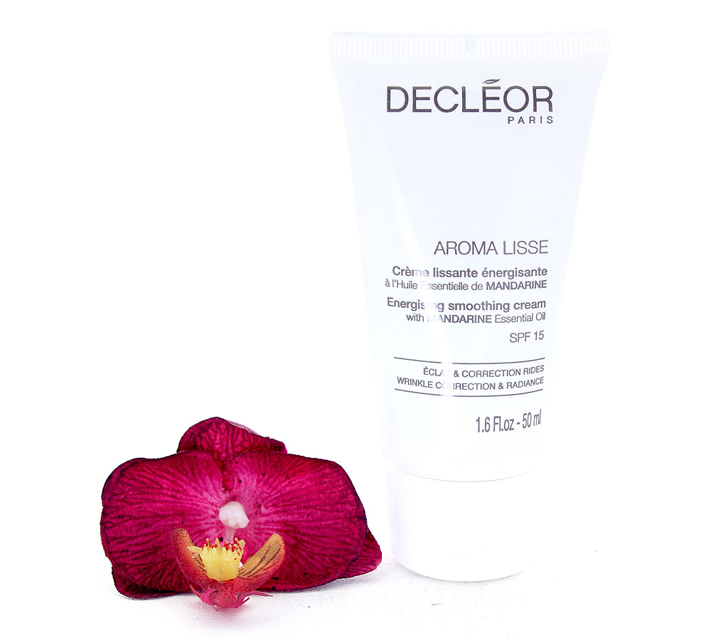 DR645051 Decleor Aroma Lisse Energising Smoothing Cream - Creme Lissante Energisante SPF15 50ml