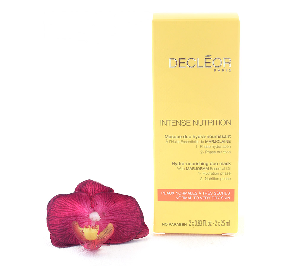 DR654000 Decleor Intense Nutrition Masque Duo Hydra-Nourrissant 2x25ml