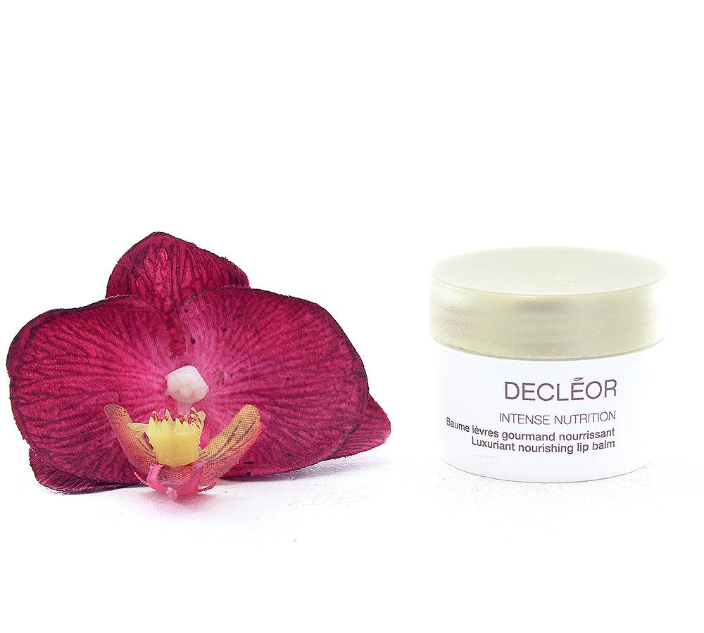 DR655000-2 Decleor Intense Nutrition Baume Lèvres Gourmand Nourrissant - Luxuriant Nourishing Lip Balm 8g