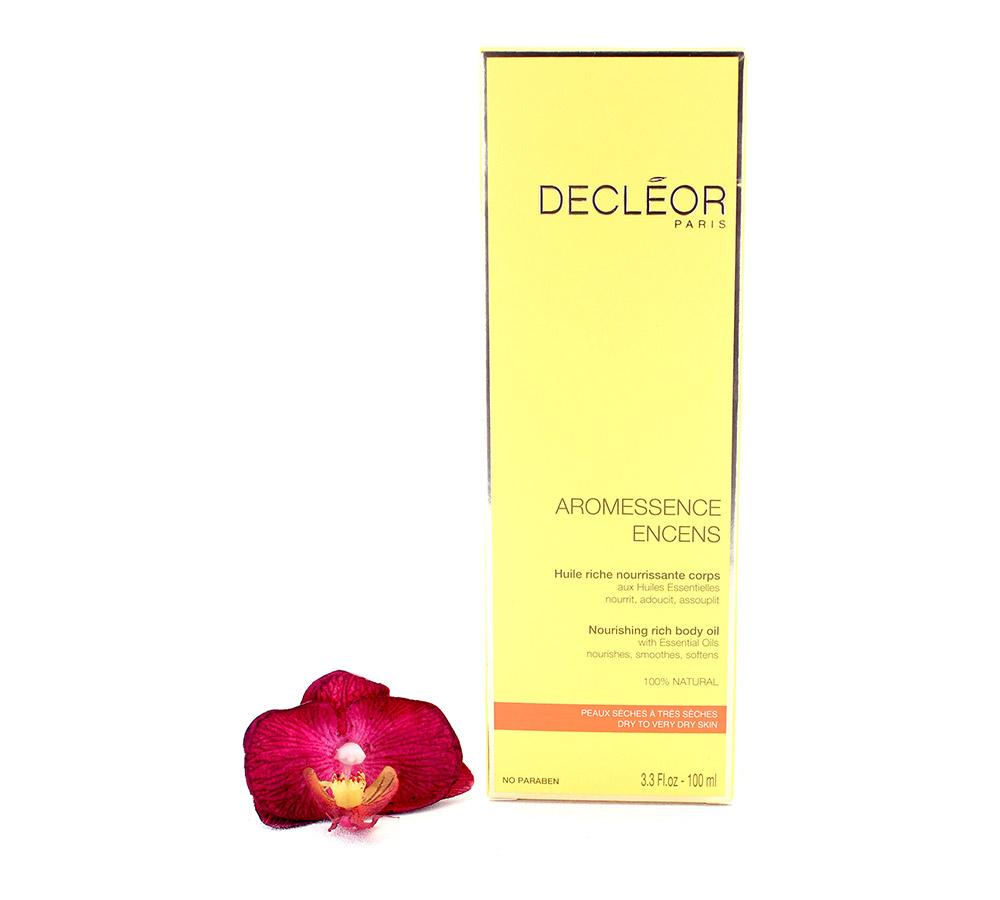DR661000 Decleor Aromessence Encens Nourishing Rich Body Oil - Huile Riche Nourrissante Corps 100ml